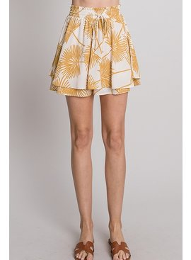 Allie Rose By Ember Tropical Print Pants