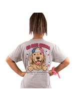 Simply Southern Collection Youth - God Bless America Short Sleeve T-shirt