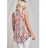 Beeson River Floral Tank Top