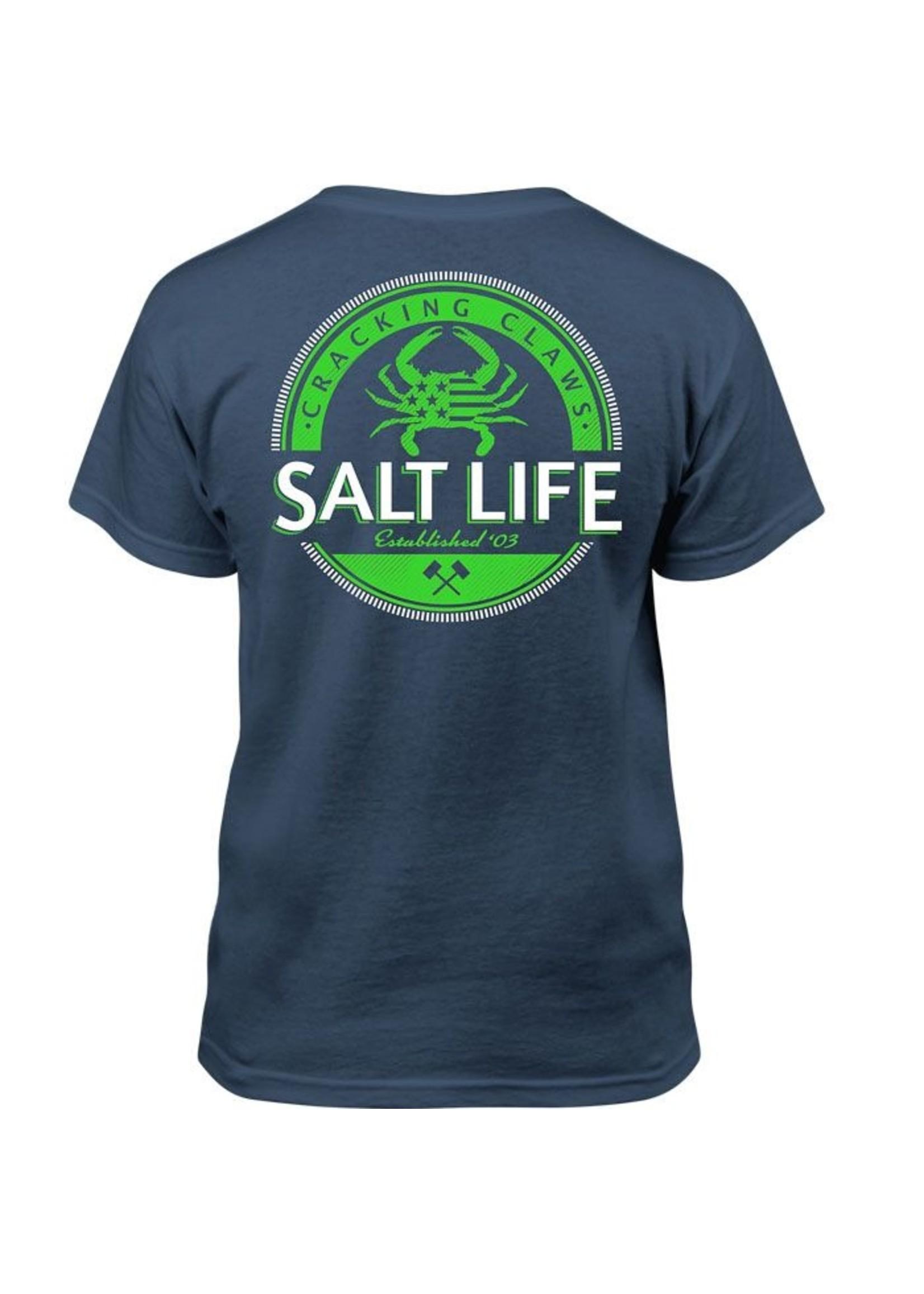 Salt Life Back Fin Youth Tee