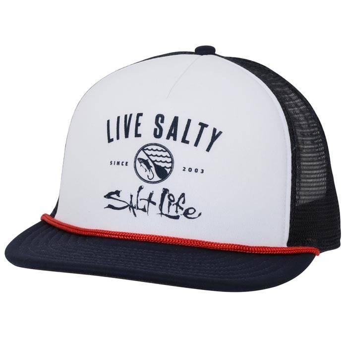 144c4a133d5d3 Salt Life Salt Life Waterways Trucker Mesh Hat - King Frog Clothing ...