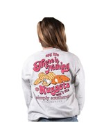 Simply Southern Collection Youth Nothing Nuggets Can't Fix Long Sleeve T-Shirt