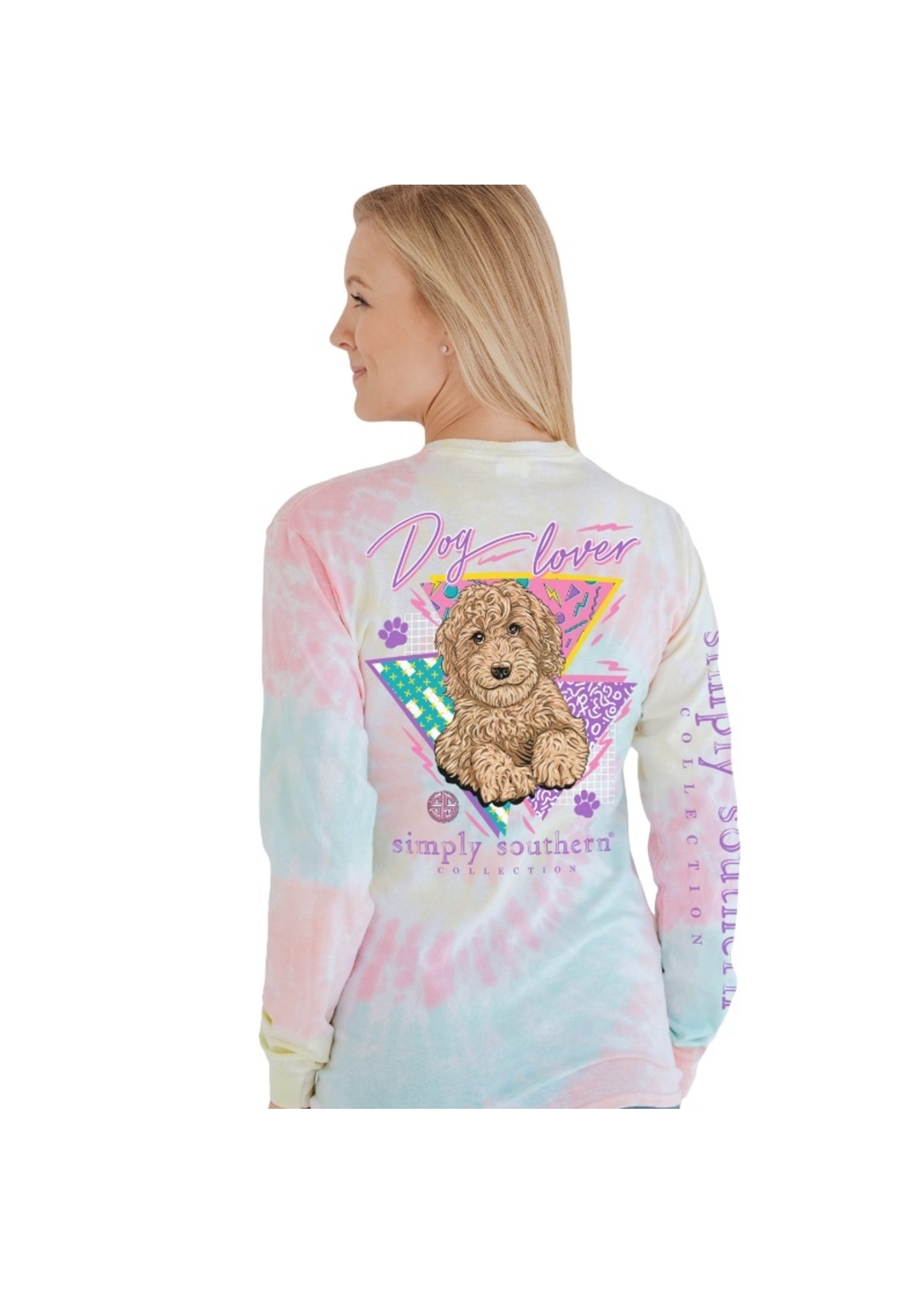 Simply Southern Collection Dog Lover Long Sleeve T-Shirt