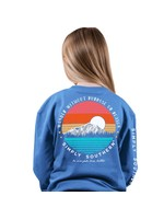 Simply Southern Collection Youth Wander Without Purpose Long Sleeve T-Shirt