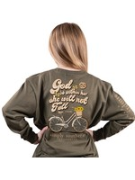 Simply Southern Collection Simply Southern Youth God is Within Her Long Sleeve T-Shirt
