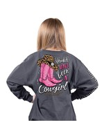 Simply Southern Collection Youth Cowgirl Long Sleeve T-Shirt