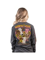 Simply Southern Collection Simply Southern Country Chick Long Sleeve T-Shirt