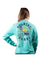 Simply Southern Collection Simply Southern Country Roads Long Sleeve T-Shirt