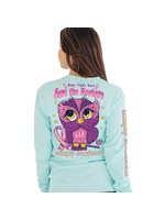 Simply Southern Collection Hope, Fight, Cure - Save the Hooters Long Sleeve T-Shirt