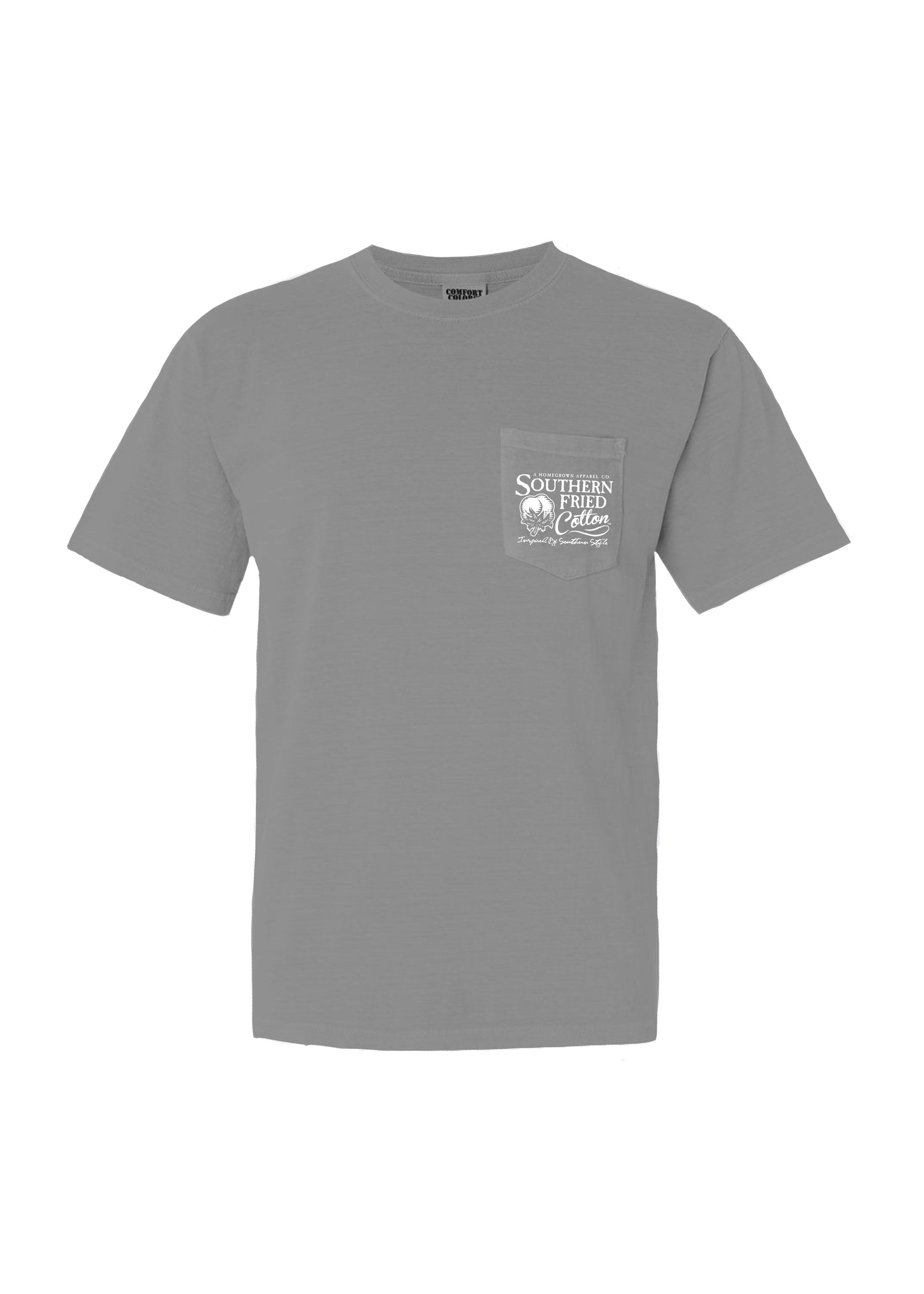 Southern Fried Cotton In The Tall Grass Short Sleeve T-Shirt