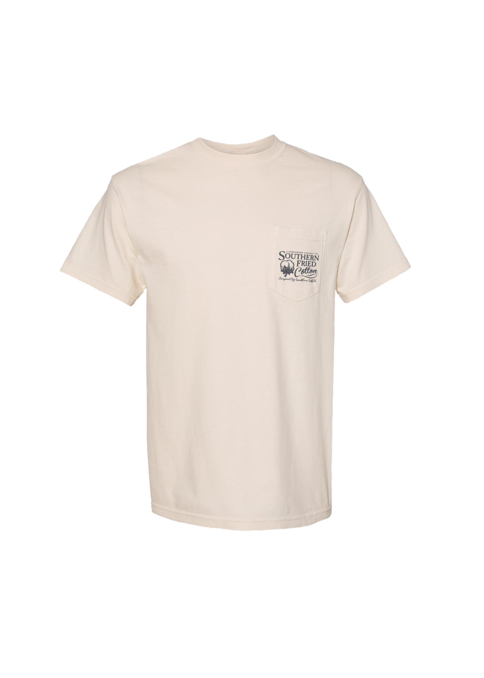 Southern Fried Cotton Duck Silhouettes Short Sleeve T-Shirt