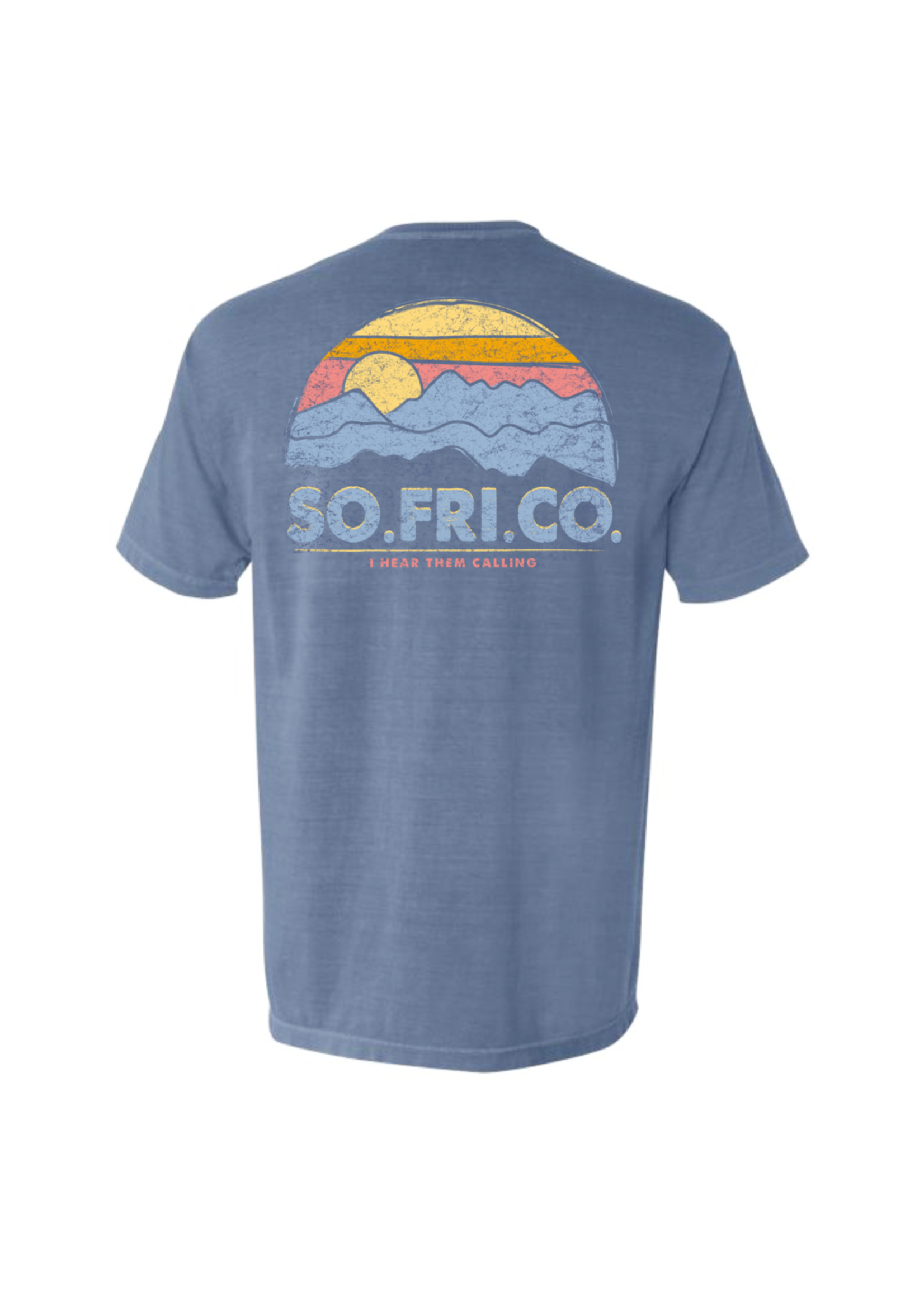 Southern Fried Cotton I Hear Them Calling Short Sleeve T-Shirt