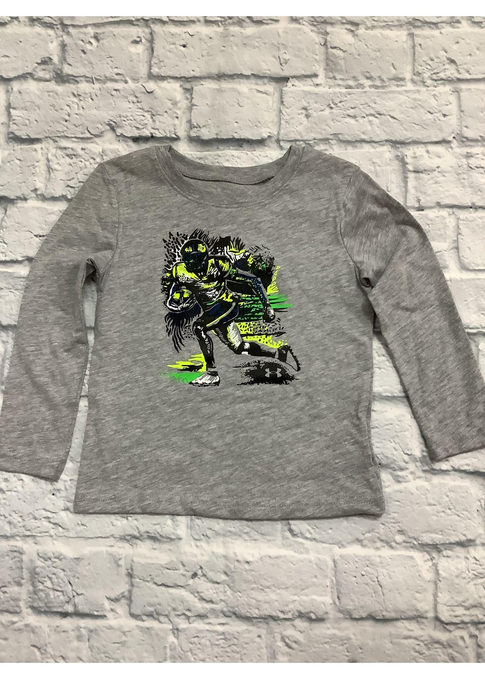 Under Armour Boys Player Sketch Long Sleeve Shirt