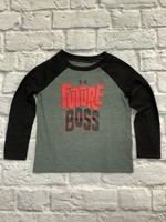 Under Armour Toddler Future Boss Raglan Long Sleeve Shirt
