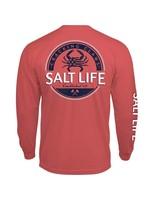Salt Life Back Fin Long Sleeve Tee