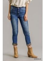 Umgee Stretch Denim Skinny Jeans