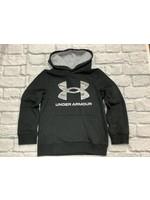Under Armour Youth Half Tone Logo Hoodie