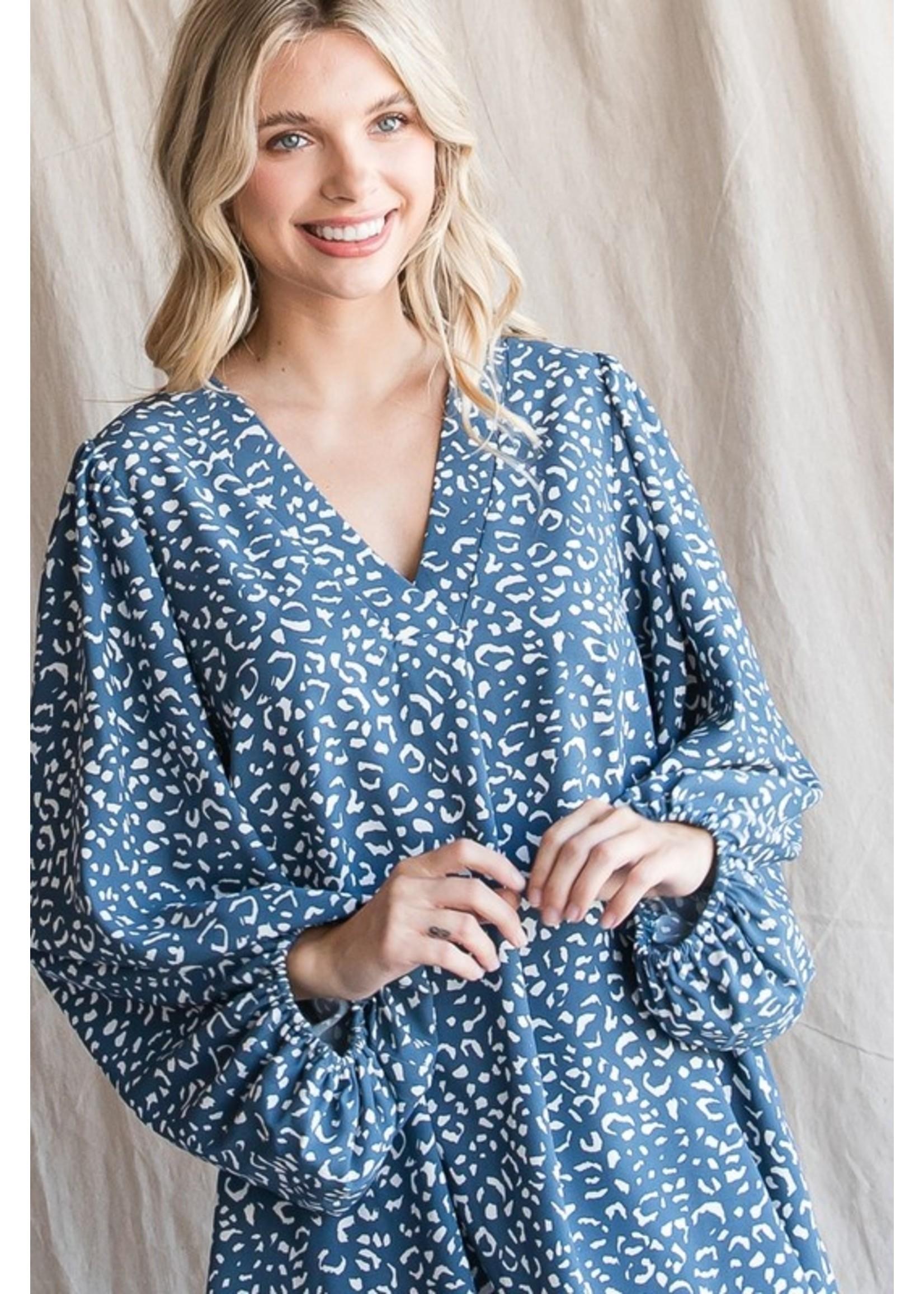 Jodifl Leopard Print Dress