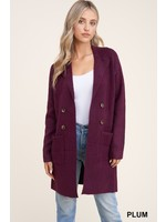 Staccato Open Front Sweater Cardigan