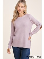Staccato Suede Elbow Patched Sweater