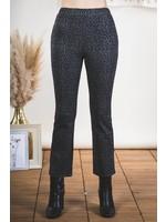 Loverichie Leopard Double Knit Legging Pants