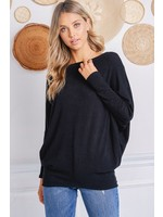 Charlotte Avery Off The Shoulder Comfy Tunic