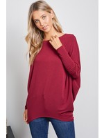 Charlotte Avery French Terry Dolman Sleeve Sweater
