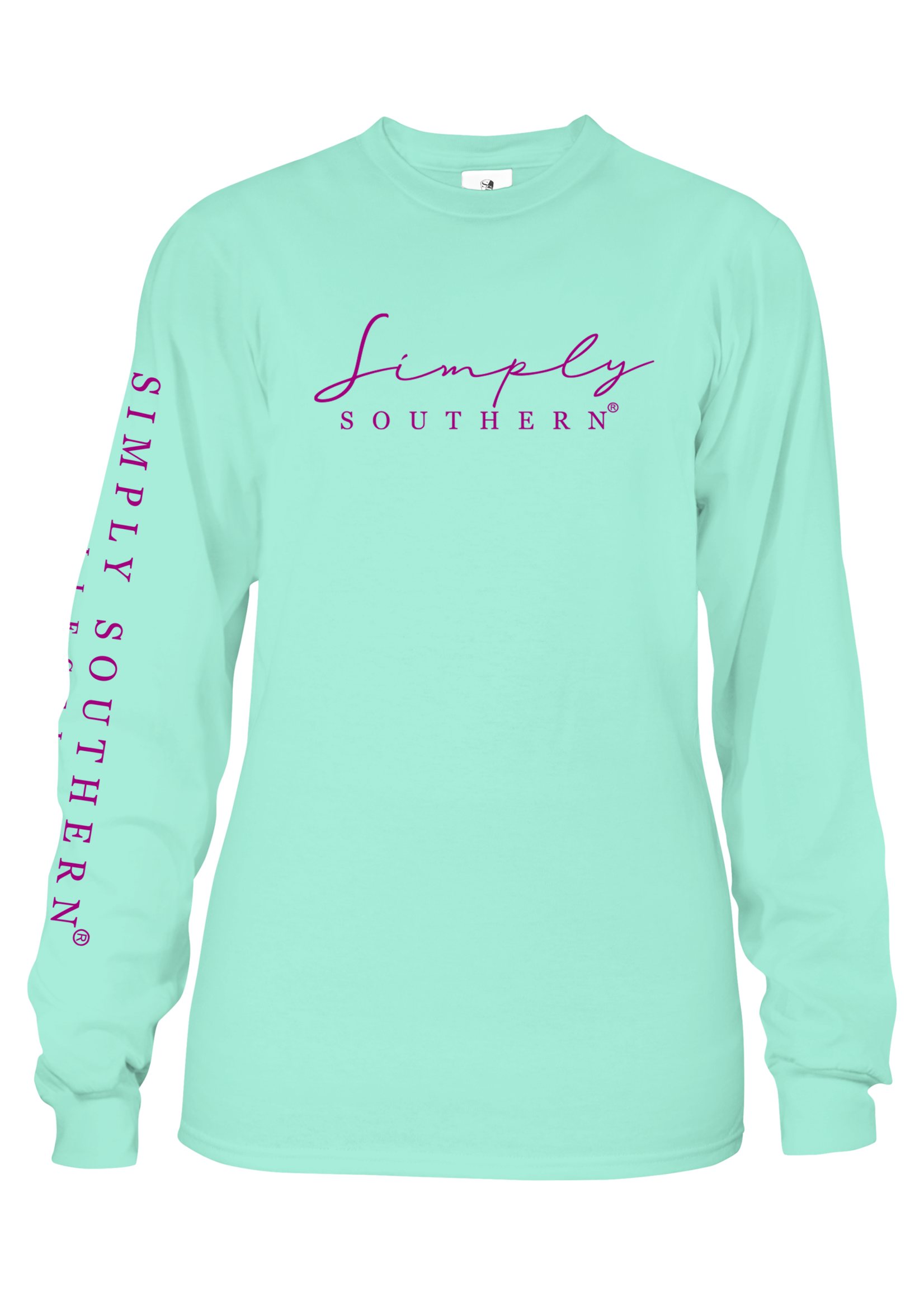 Simply Southern Collection Youth Counting Stars Long Sleeve T-Shirt - Surf