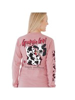 Simply Southern Collection Georgia Girl Long Sleeve T-Shirt - Crepe