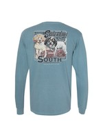 Southern Fried Cotton Saturday In the South - Long Sleeve