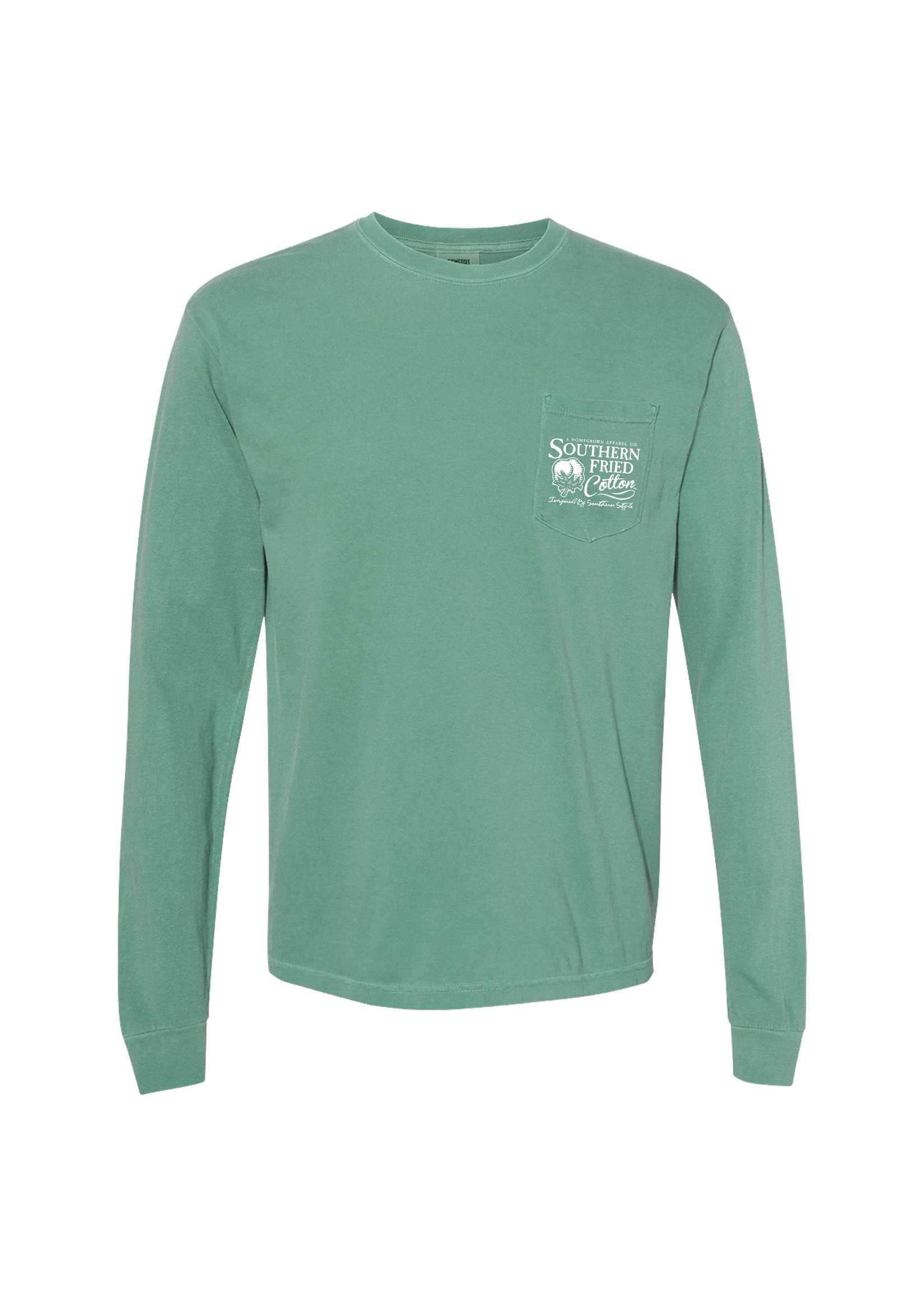 Southern Fried Cotton Born To Hunt - Long Sleeve