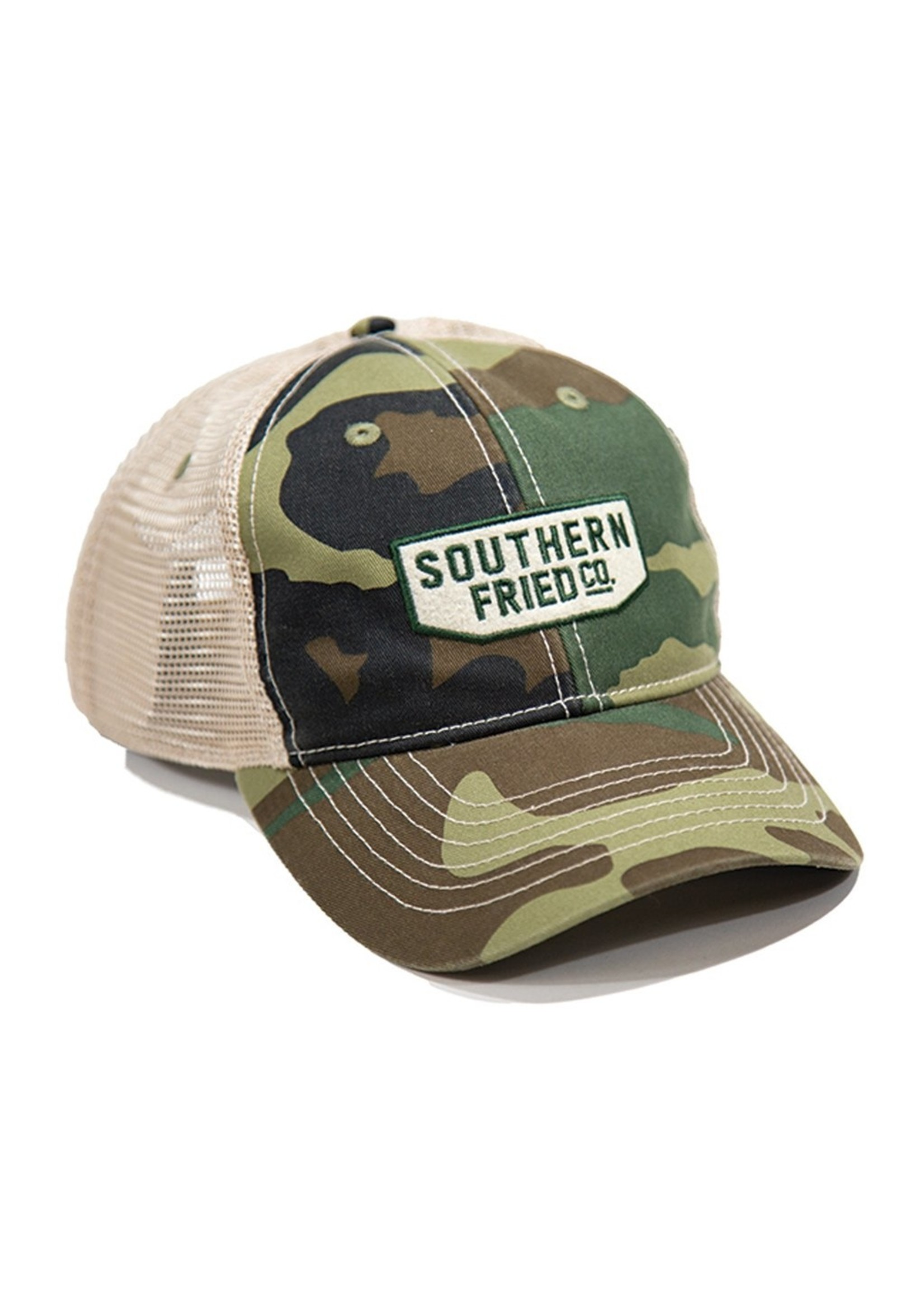 Southern Fried Cotton Camo Ranger Hat