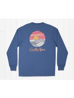 Southern Marsh Paper Mountains Tee - Long Sleeve