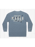 Southern Marsh Youth SEAWASH™ Tee - Etched Formation - Long Sleeve