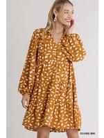 Umgee Animal Print Dress