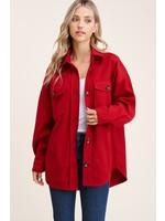 Staccato Collared Oversized Jacket