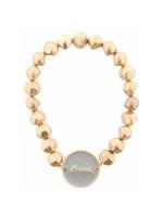 Jane Marie Circle Stretch Beaded Bracelet