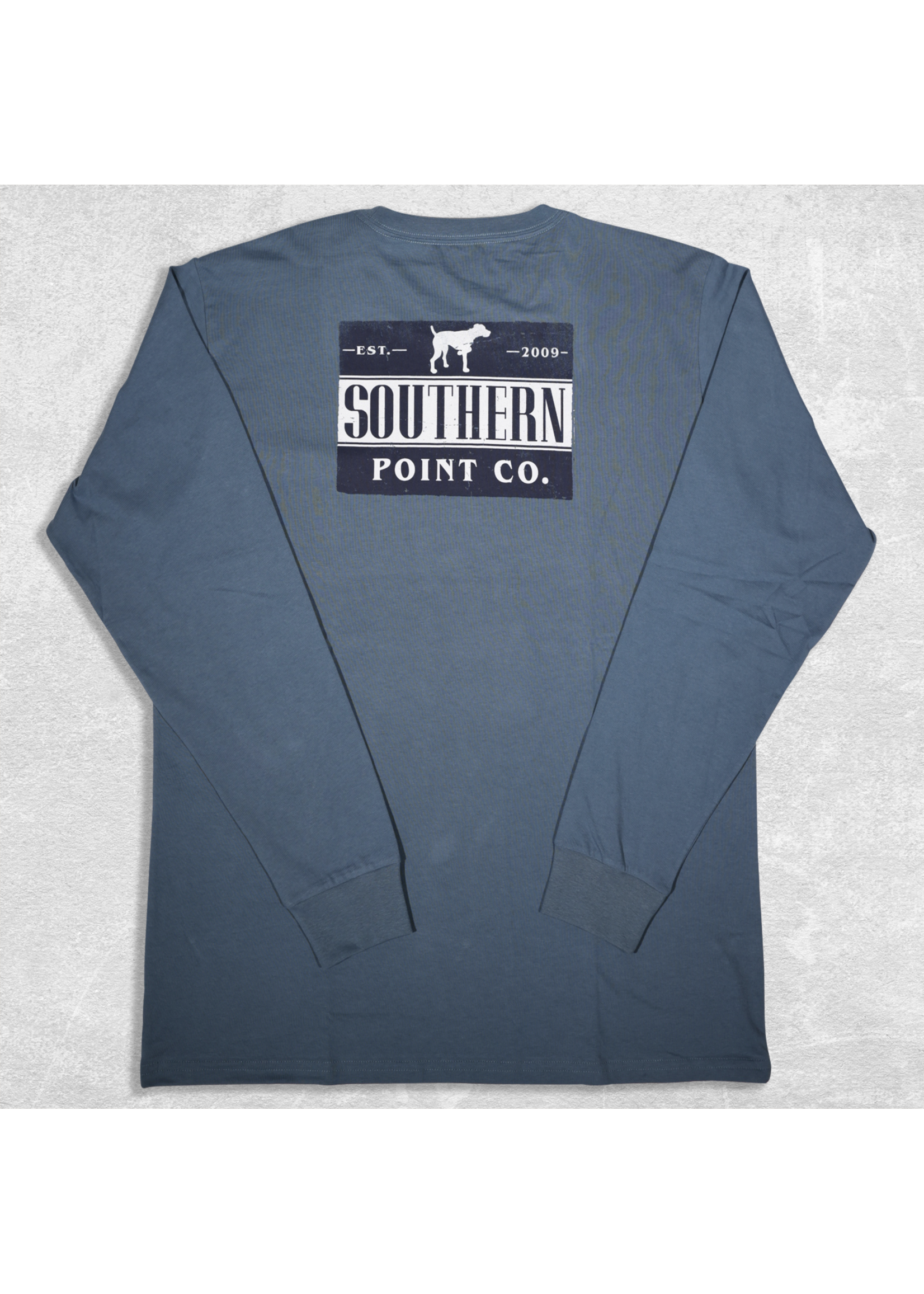 Southern Point Co. Vintage Long Sleeve Signature Tee