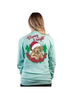 Simply Southern Collection Merry and Bright  Long Sleeve T-Shirt