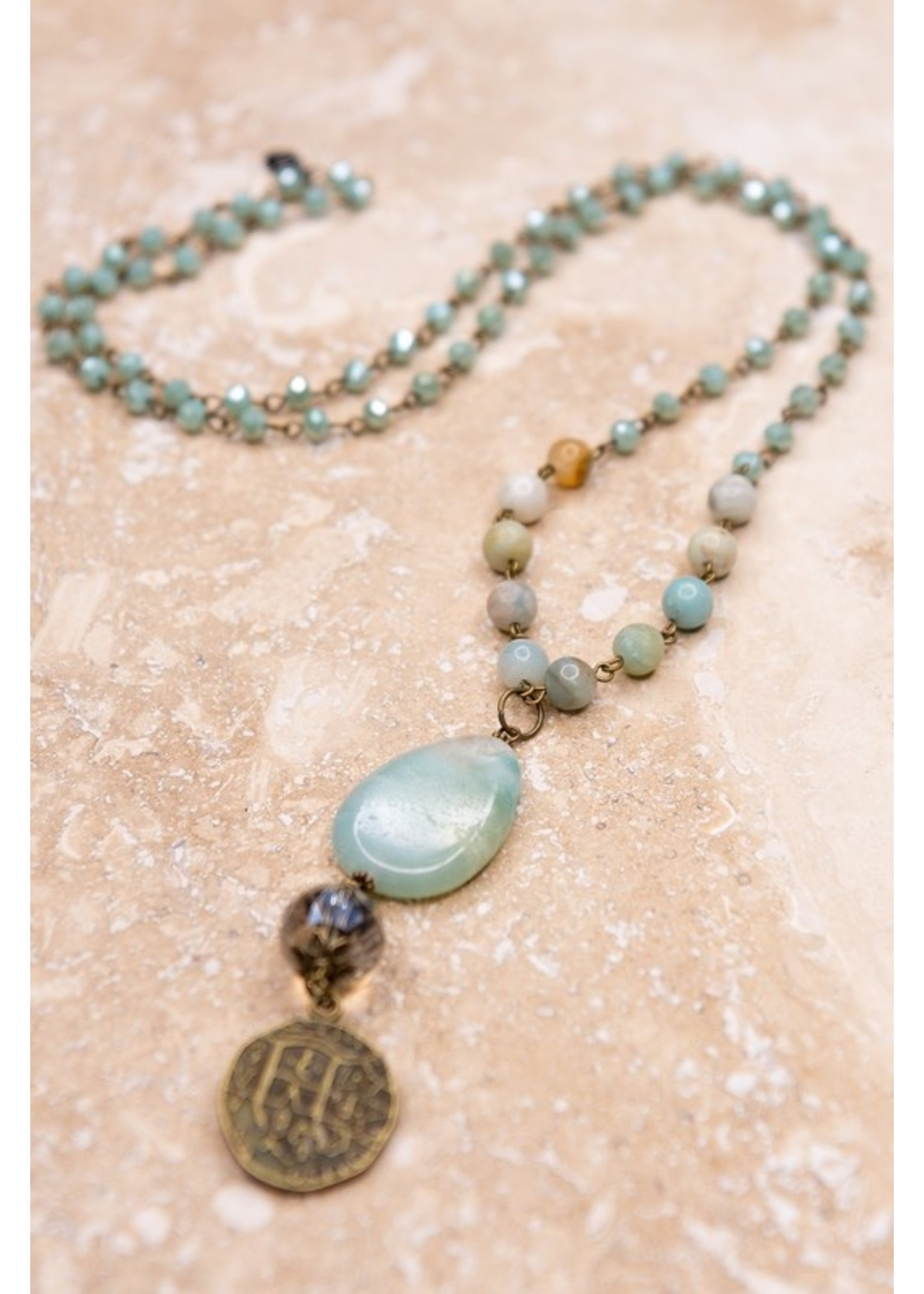 Dylan Jewelry Alexis Necklace Amazonite
