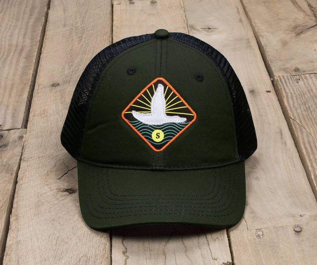Southern Marsh Southern Marsh Trucker Hat - Flying Duck - King Frog ... 73aa8eb14ca
