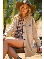 Jodifl Soft Button Up Jacket