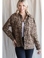 Jodifl Leopard Print Jacket