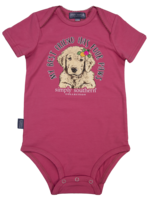 Simply Southern Collection My Best Friend Has Four Paws Onesie - Pink