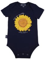 Simply Southern Collection You Are Worthy  Onesie - Navy