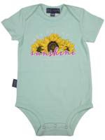 Simply Southern Collection You Are My Sunshine Onesie - Seafoam