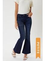 KanCan Petite Mid Rise Flare Jeans