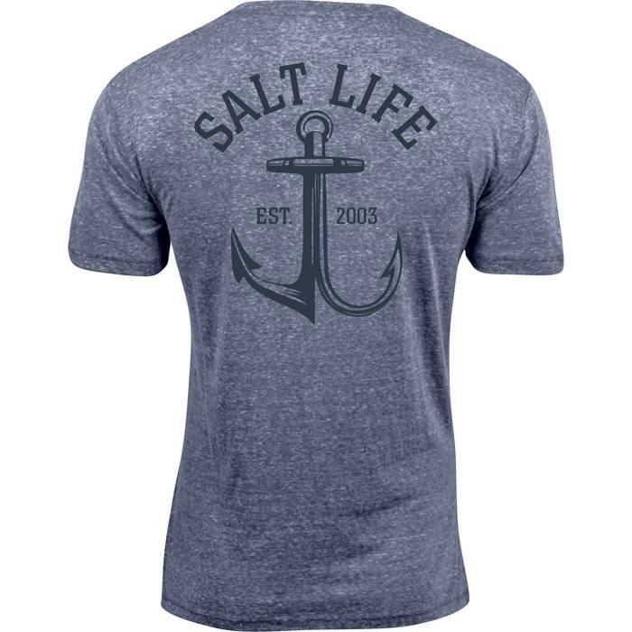 Salt Life Anchor Gaff Tri-Blend Tee