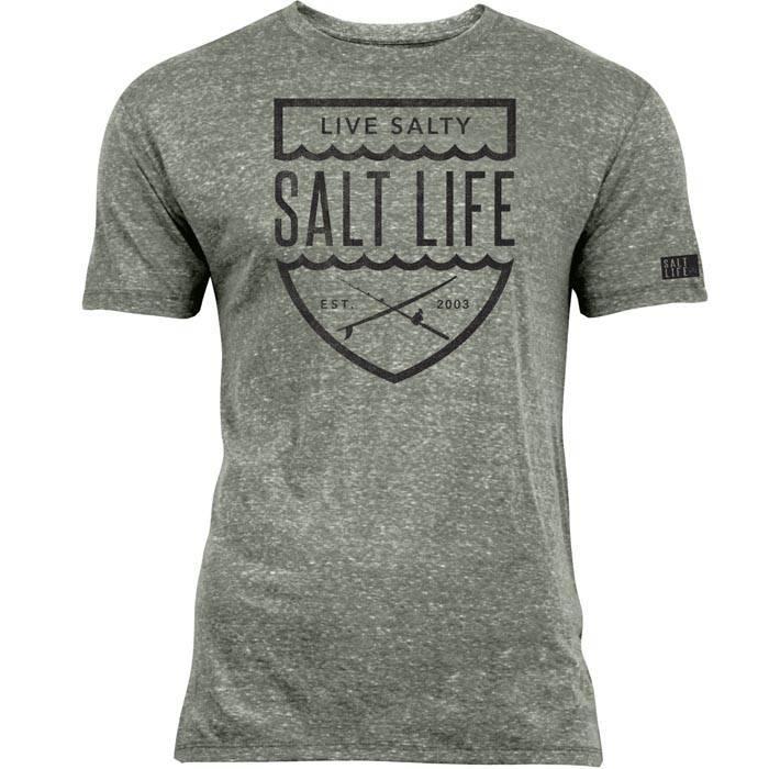 Salt Life Salt Life Ocean Crest Tri-Blend Tee