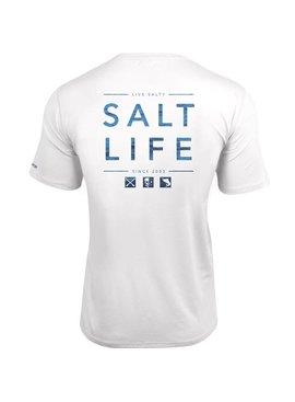 Salt Life Salt Life Water Icons SLX UVapor Pocket Tee